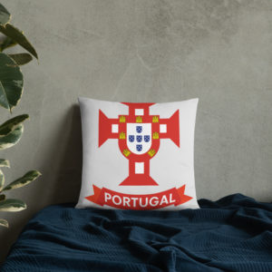 Flag Portugal Sea 1500 - Square Pillow