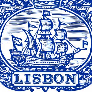 Lisbon Tile Indigo Blue