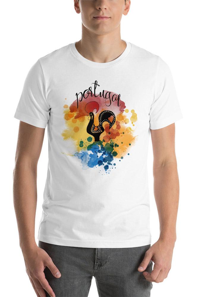 Galo de Barcelos Portugal – Short-Sleeve Unisex T-Shirt