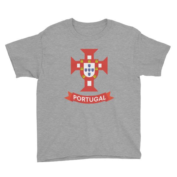 Flag Portugal Sea 1500 – Youth Short Sleeve T-Shirt