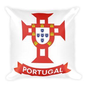 Flag Portugal Sea 1500 - Square Pillow