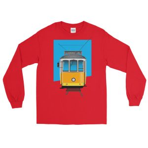 Tram 28 Largo Camões - Long Sleeve T-Shirt