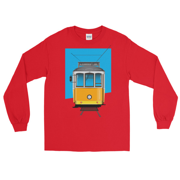 Tram 28 Largo Camões - Long Sleeve T-Shirt