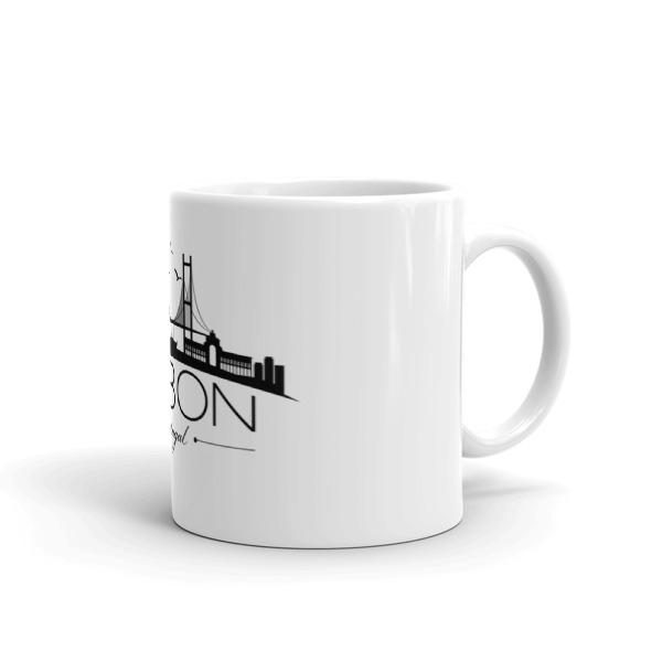 Lisbon City Silhouette – Mug