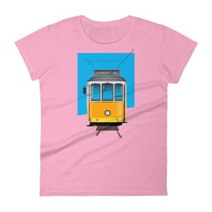 Tram 28 Largo Camões - Women's Short Sleeve T-shirt