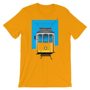 Tram 28 Largo Camões - Short-Sleeve Unisex T-Shirt