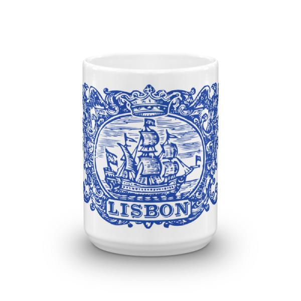 Lisbon Tile Indigo Blue – Mug