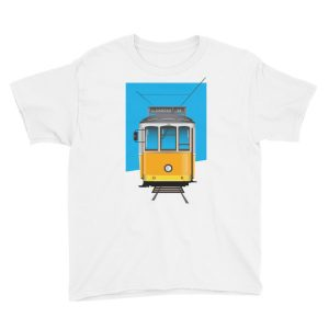 Tram 28 Largo Camões – Youth Short Sleeve T-Shirt
