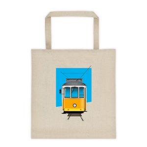 Tram 28 Largo Camões - Tote Bag