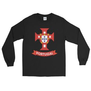 Flag Portugal Sea 1500 - Long Sleeve T-Shirt