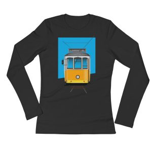 Tram 28 Largo Camões - Ladies Long Sleeve T-Shirt