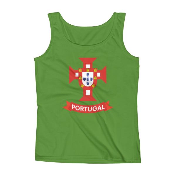 Flag Portugal Sea 1500 - Ladies Tank Top