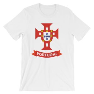 Flag Portugal Sea 1500 - Short-Sleeve Unisex T-Shirt