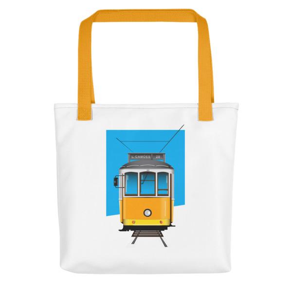 Tram 28 Largo Camões - All-Over Tote Bag