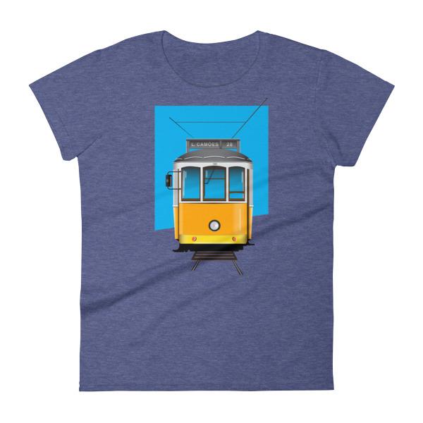 Tram 28 Largo Camões - Women's Short Sleeve T-shirt