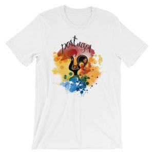 Galo de Barcelos Portugal – Short-Sleeve Unisex T-Shirt