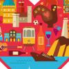 Portugal Love Heart