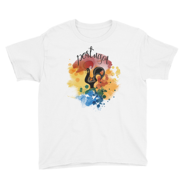 Galo de Barcelos Portugal – Youth Short Sleeve T-Shirt