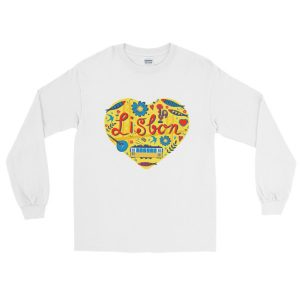 Love For Lisbon - Long Sleeve T-Shirt