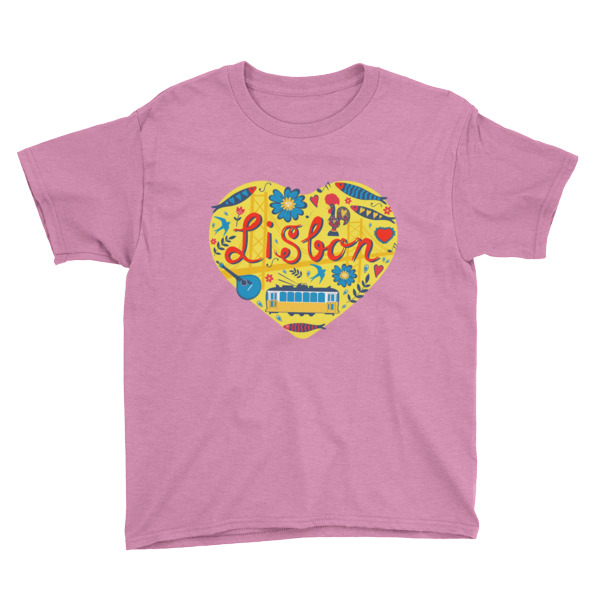 Love For Lisbon - Youth Short Sleeve T-Shirt