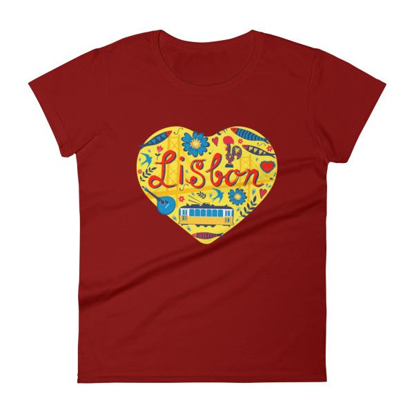 Love For Lisbon - Women's Short Sleeve T-shirt