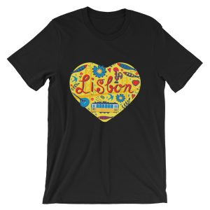 Love For Lisbon - Short-Sleeve Unisex T-Shirt