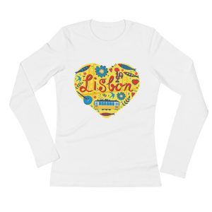 Love For Lisbon - Ladies Long Sleeve T-Shirt