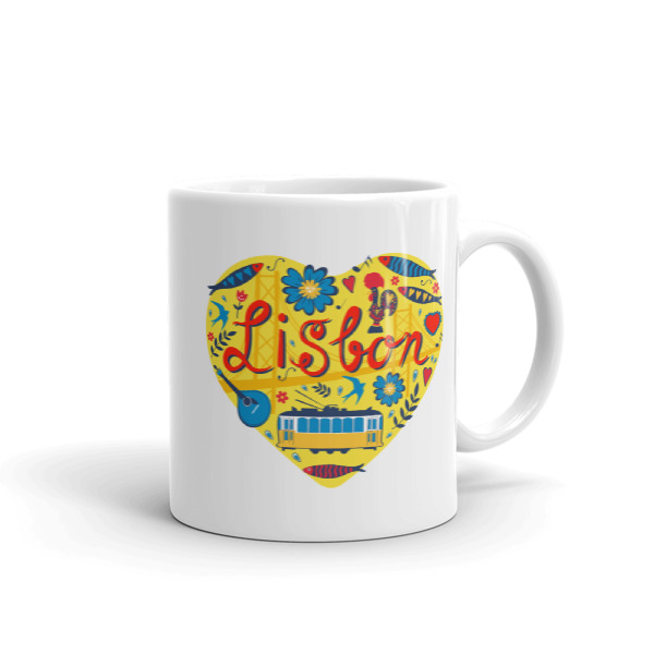 Love For Lisbon – Mug