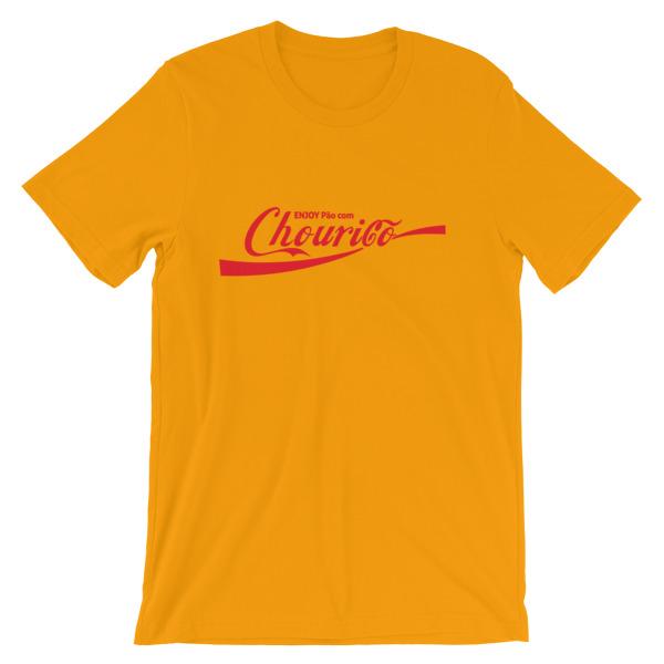 Enjoy Pão com Chouriço - Short-Sleeve Unisex T-Shirt