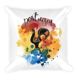 Galo de Barcelos Portugal - Square Pillow