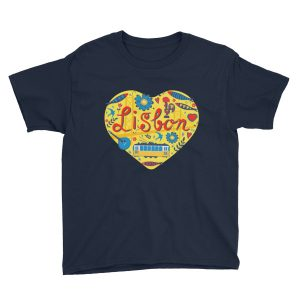 Love For Lisbon - Youth Short Sleeve T-Shirt