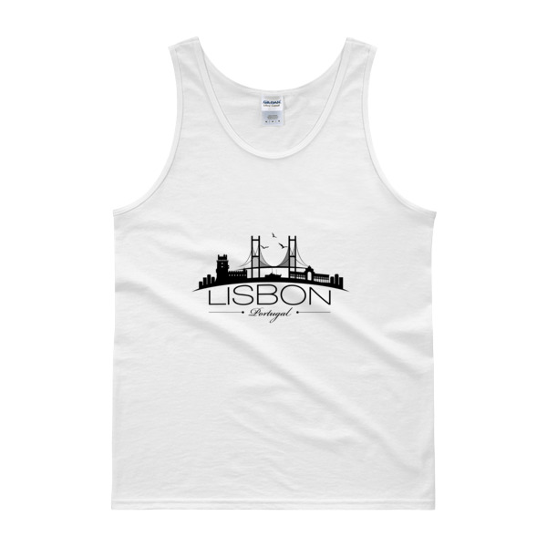 Lisbon City Silhouette - Tank Top