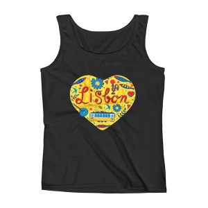 Love For Lisbon - Ladies Tank Top