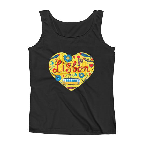 Love For Lisbon - Ladies Tank Top