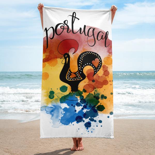 Galo de Barcelos Portugal - Towel