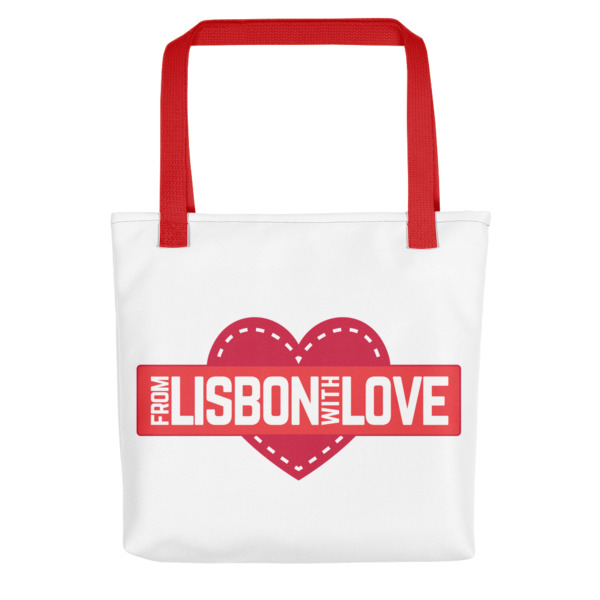 From Lisbon With Love - All-Over Tote Bag