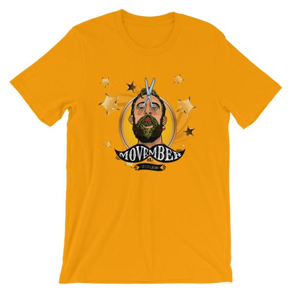 António Variações Movember - Short-Sleeve Unisex T-Shirt