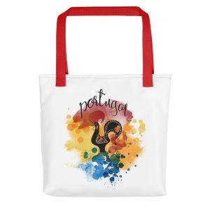 Galo de Barcelos Portugal - All-Over Tote Bag