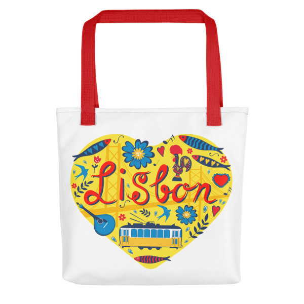 Love For Lisbon - All-Over Tote Bag