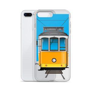 Tram 28 Largo Camões - iPhone Case