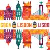 Lisbon Multi Color Silhouette