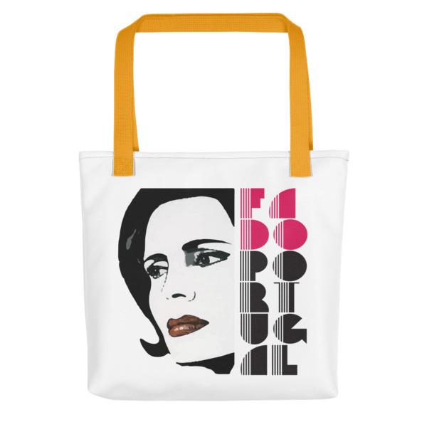 Amália Rodrigues Fado Portugal - All-Over Tote Bag