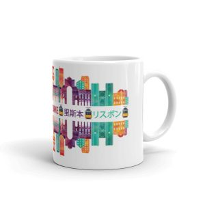 Lisbon Multi Color Silhouette – Mug