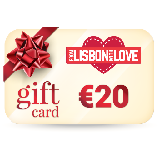 From Lisbon With Love - Gift Card €20