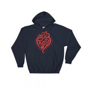 Filigrana Heart - Hooded Sweatshirt