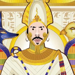 Conan Osiris Horus & Isis