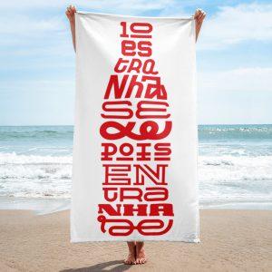 Fernando Pessoa - Coca-Cola - Towel