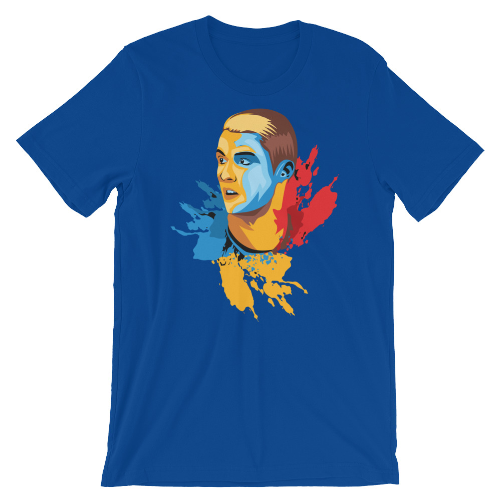 Cristiano Ronaldo CR7 Color Splash – Short-Sleeve Unisex T-Shirt