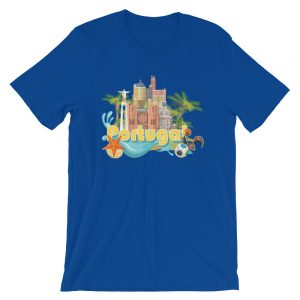 Portugal Travel Paradise - Short-Sleeve Unisex T-Shirt