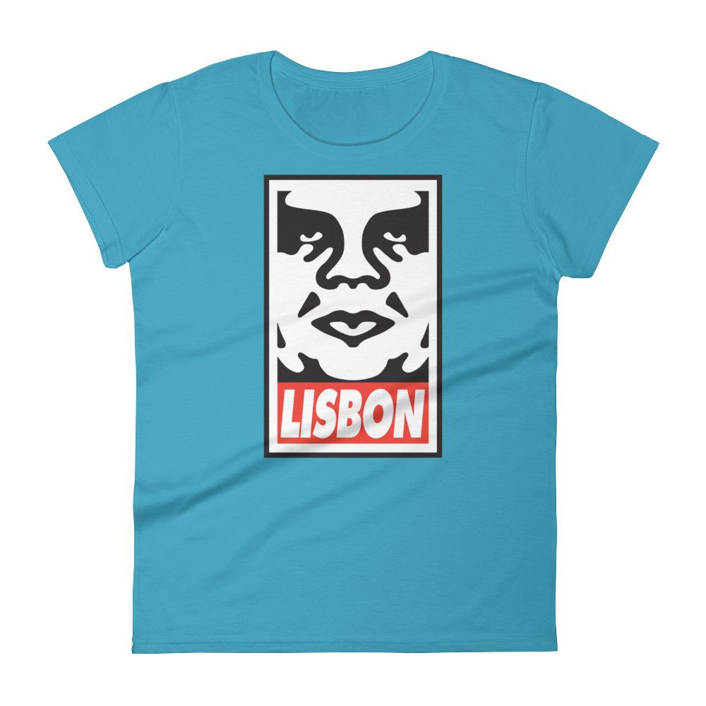 Obey Lisbon - Women's Short Sleeve T-Shirt
